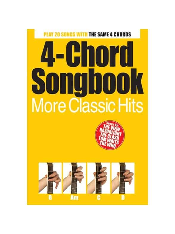 4-Chord Songbook - More Classic Hits | Guitar Music Book