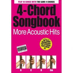 4-Chord Songbook: More Acoustic Hits Books | Lyrics / Chords