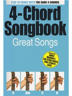 4-Chord Songbook: Great Hits Books | Lyrics / Chords