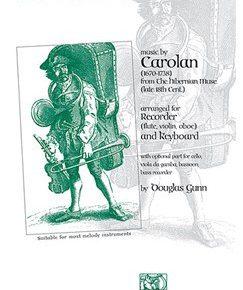 Music By Carolan (The Hibernian Muse) | Recorder, Keyboard