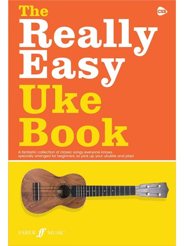 The Really Easy Uke Book Books | Ukulele (with Chord Symbols)