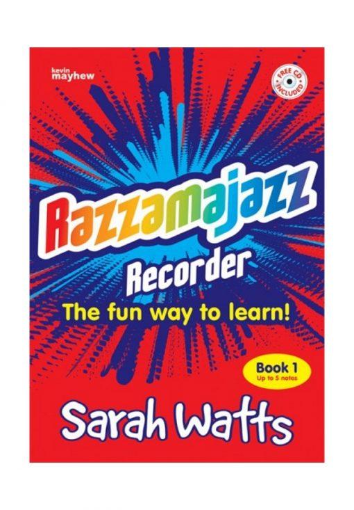 Razzamajazz Recorder Book 1 and CD