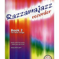 Razzamajazz Recorder Book 2 and CD