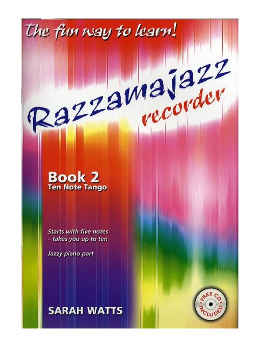 Razzamajazz Recorder Book 2 and CD