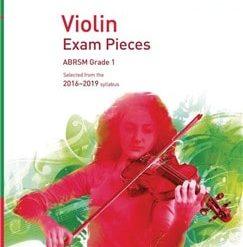 ABRSM: Violin Exam Pieces 2016–2019 - Grade 1 (Score, Part & CD)
