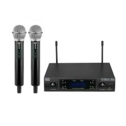 DAP Audio COM-42 Twin UHF Wireless Microphone Set