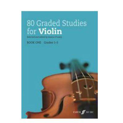 80 Graded Studies for Violin Book 1