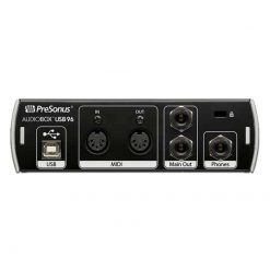 Presonus AudioBox USB 96 Back