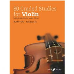 80 Graded Studies for Violin. Book 2