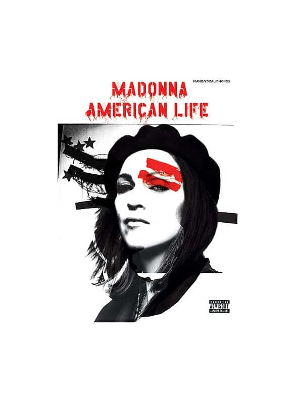 Madonna: American Life / Piano, Voice & Guitar With Chord Boxes
