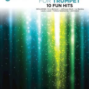 Instrumental Play-Along: Pop Favourites - Trumpet (Book/Audio)