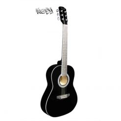 Koda 3/4 Acoustic Guitar HW36-201 Black PACK