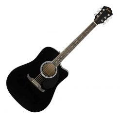 Fender FA-125CE Dreadnought Electro Acoustic WN, Black