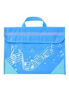 Musicwear Wavy Stave Light Blue Music Bag