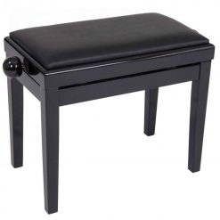 Kinsman Piano Bench Black