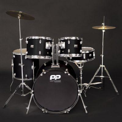 PP220BLK Drumkit Black
