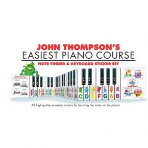 John Thompson's Easiest Piano Course Notefinder