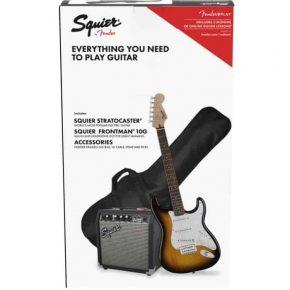 Squier Strat Pack Sunburst