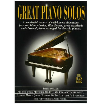 Great Piano Solos Black Book