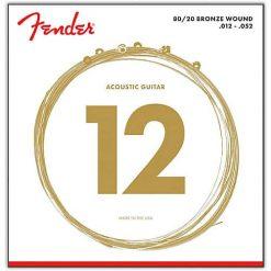 Fender 70L Acoustic 80/20 Bronze 12-52