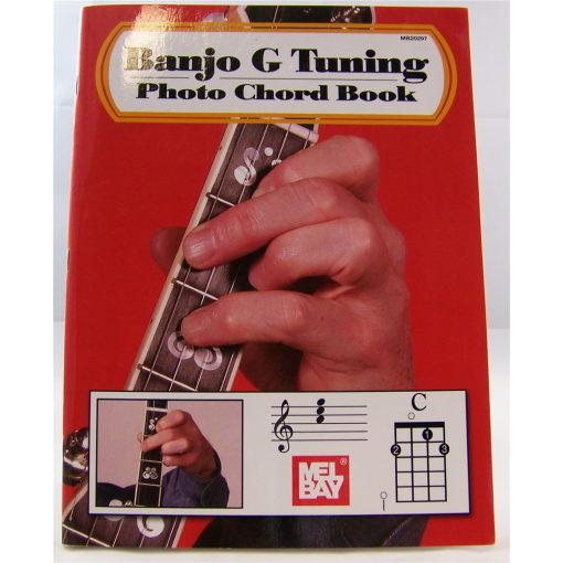 Banjo G Tuning Photo Chord Book