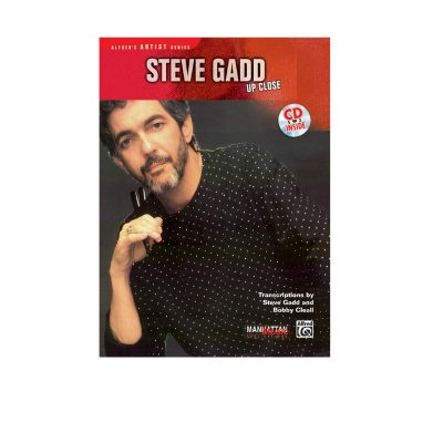 Steve Gadd Up Close Book & Cd