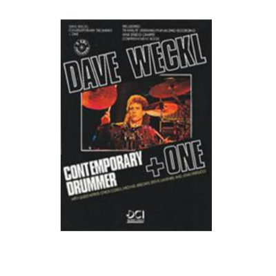 Dave Weckl Contemporary Drummer & One Book & 2 Cd's