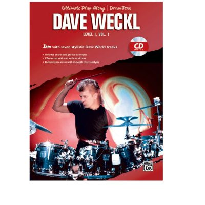 Ultimate Playalong Dave Weckl Level 1 Vol. 1