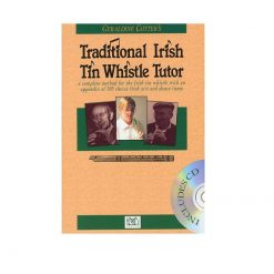 Traditional Irish Tin Whistle Tutor Book and Cd