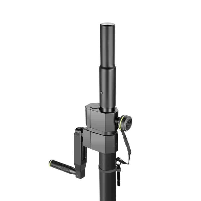 Gravity Adjustable Speaker Pole With Crank Soundshop Ie