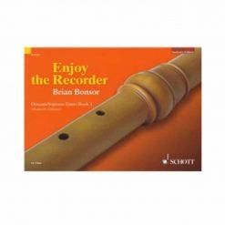 Brian Bonosr Enjoy the Recorder Descant Tutor Book 1