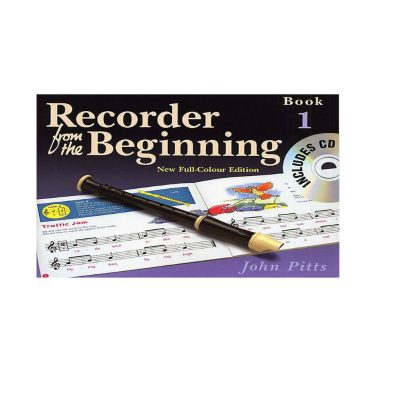recorder from the beginning book 1 & Cd new full colour edition