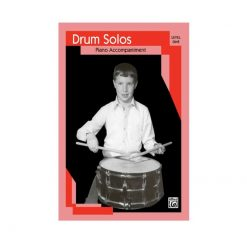 Drum Solos with Piano Accompaniment Level 1