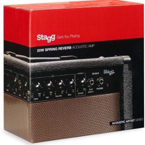 Stagg 20AAR Acoustic Guitar Amplifier