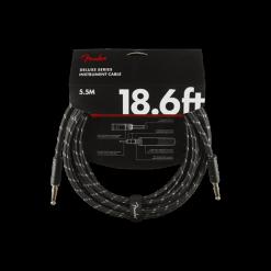 Fender Guitar Cable 5.5M' Black Tweed