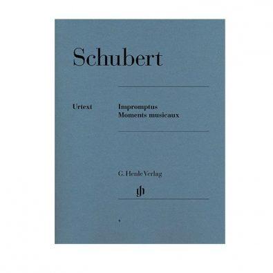 Franz Schubert: Impromptus And Moments Musicaux (Henle Urtext Edition)
