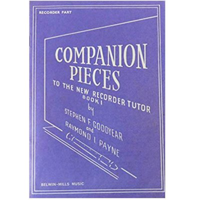 Companion Pieces to The New Recorder Tutor Book 1