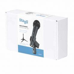 Stagg SUM20 USB dynamic microphone set