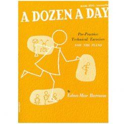 A Dozen a Day Book 5 Intermediate