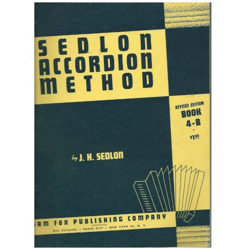 Sedlon Accordion Course Book 4 B