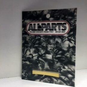 ALLPARTS Guitar Brass Blank Top Nut