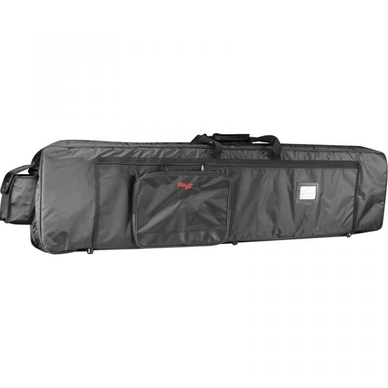 Stagg K18138 deluxe black nylon keyboard bag