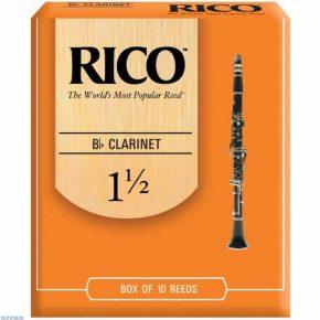 Rico Bb clarinet reed - 1.5 (Price Per Reed)