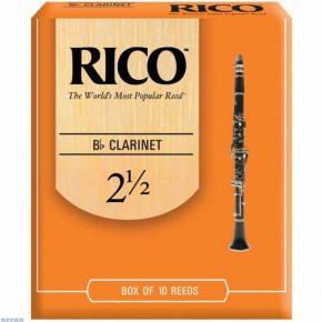 Rico Orange Bb clarinet reed - 2.5 (Price Per Reed)