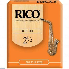 Rico alto saxophone reed 2.5 (Price Per Reed)