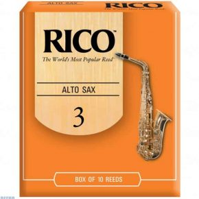 Rico alto saxophone reed 3 (Price Per Reed)