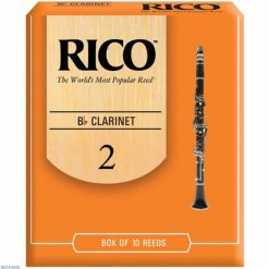 Rico Orange Bb clarinet reed - 2 (Price Per Reed)