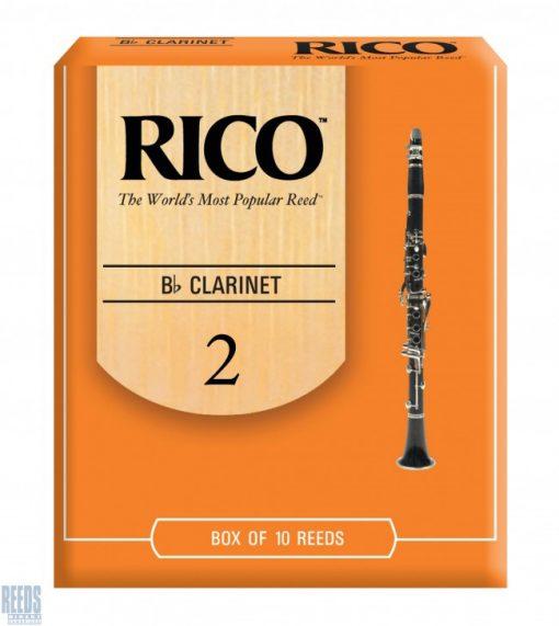 Rico Orange Bb clarinet reed - 2 (Price Per Reed)