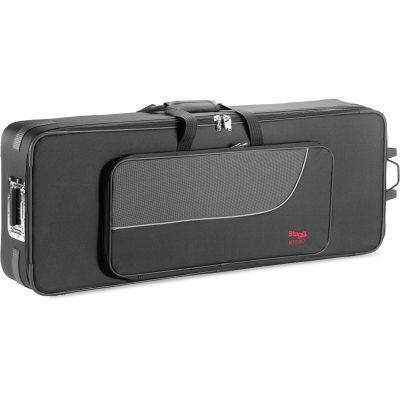 Stagg KTC117 Terylene soft case for keyboard, with wheels and pull out handle