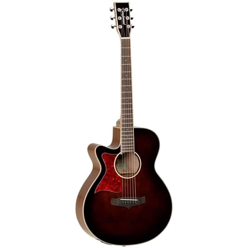 Tanglewood TW4 E Super Folk Guitar WB LH